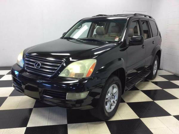 2006 LEXUS GX 470 4X4 LUXURY SUV! 3RD ROW! LEATHER-NAVIGATION-SUNROOF!