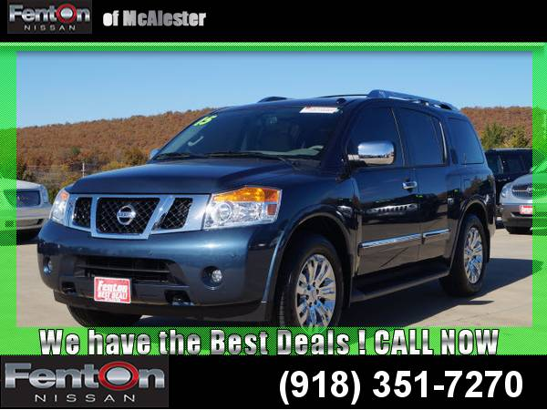 2015 Nissan Armada Platinum 24 Hour Liquidation! CALL NOW!