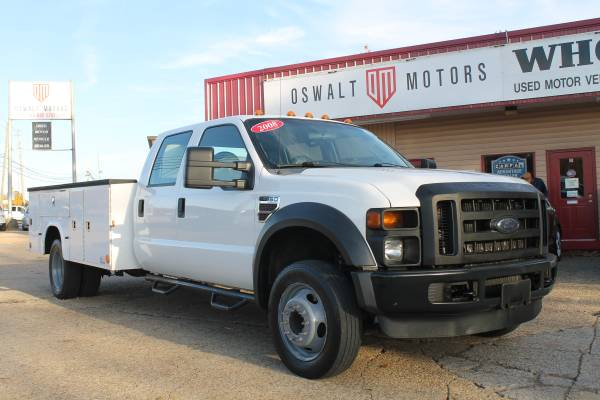 2008 FORD F-450 XL SUPERCREW W/ SERVICE BODY