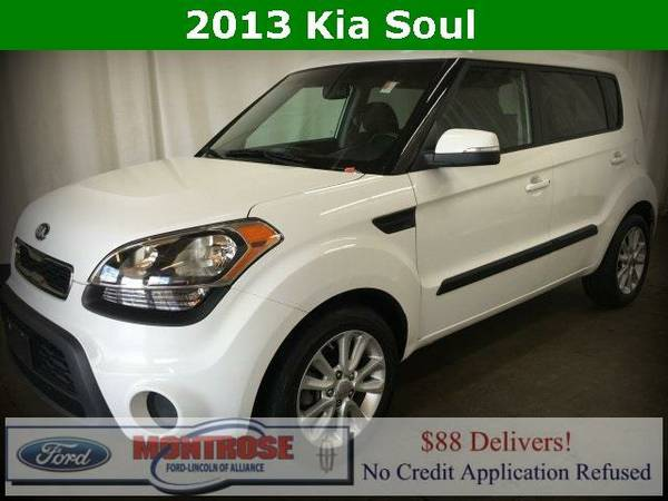 2013 *Kia Soul* - Kia Clear White