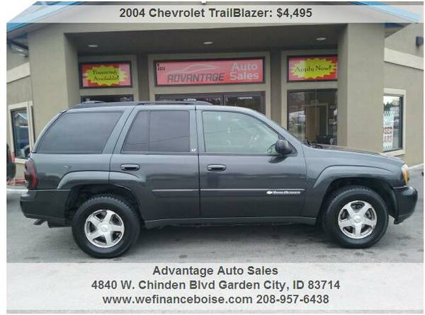 ◄2004 Chevrolet TrailBlazer 4x4~ Limited Warranty & We Finance...
