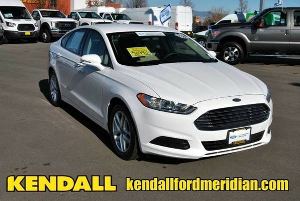 2014 Ford Fusion Oxford White *BUY IT TODAY*