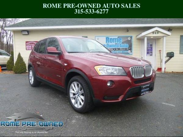 2014 BMW X3 Red SEE IT TODAY!