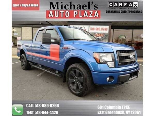 2012 *Ford F-150* FX4 4x4 4dr SuperCab Styleside 6.5 ft. SB (Blue)