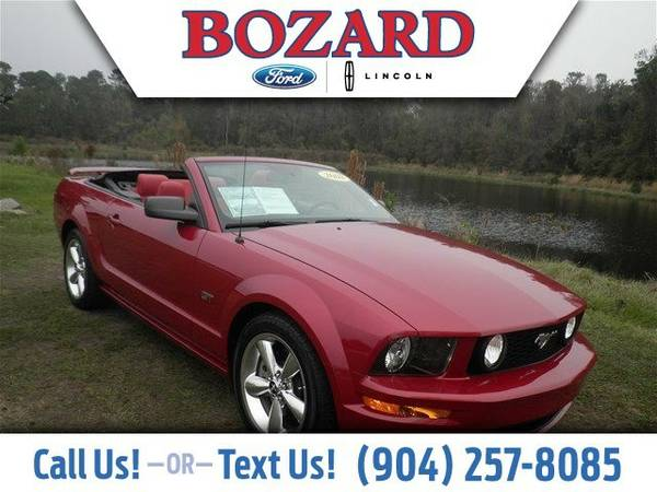 2008 Ford Mustang GT Premium Convertible Mustang Ford