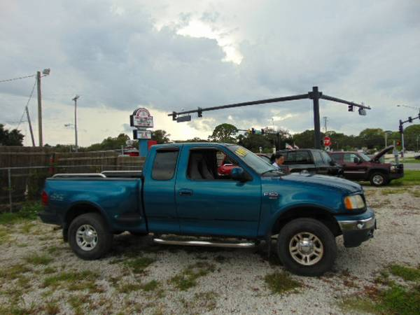 2000 Ford F-150 XLT X-Cab 4X4 Off Road Buy Here Pay Here Financing