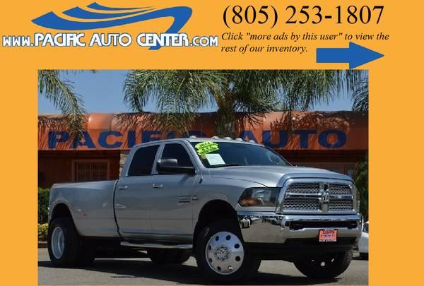 *2014 Dodge Ram 3500 Diesel Truck Tradesman Ram 3500 4x4 Dually #16095