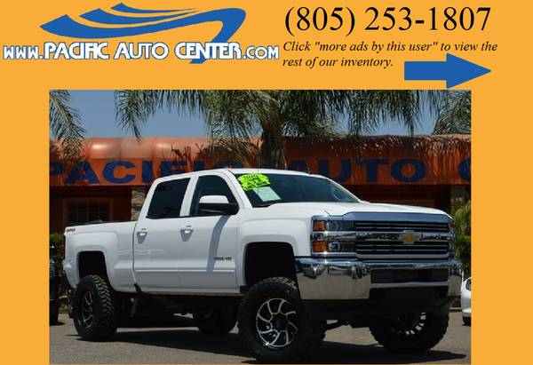 2016 Chevrolet Silverado 2500 HD LT 4x4 Lifted Truck Chevy 2500 #16101
