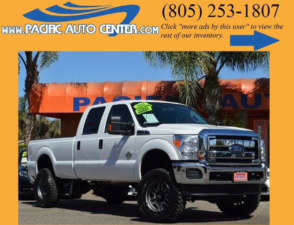2016 Ford F250 Diesel Truck XLT 4x4 Lifted Ford F250 # 16543