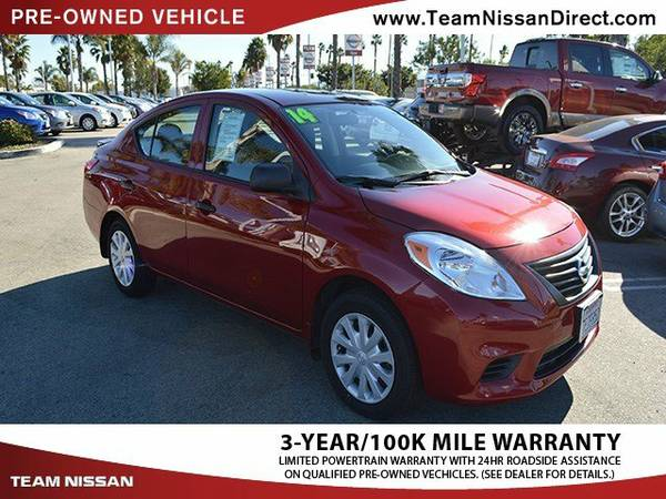 2014 Nissan Versa Red FANTASTIC DEAL!