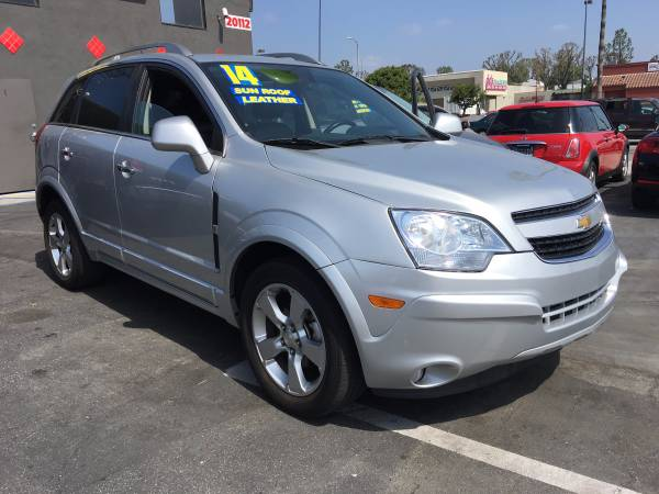 2014 Chevy Captiva SUV we finance any credit