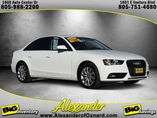 2014 *Audi A4* 2.0T Premium - (Glacier White Metallic)