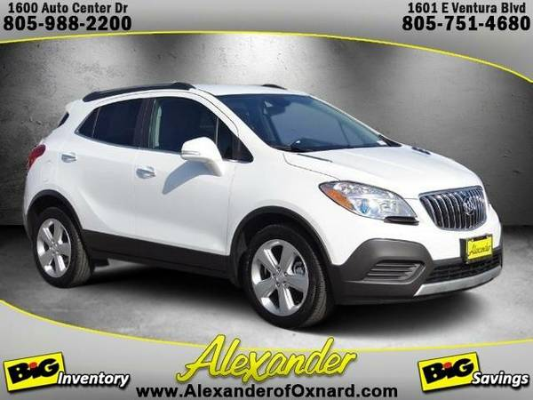 2016 *Buick Encore* Base - (Summit White)