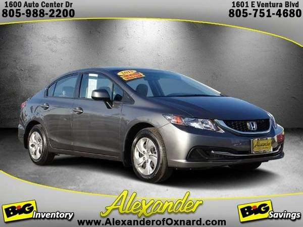 2013 *Honda Civic* LX - (Polished Metal Metallic)