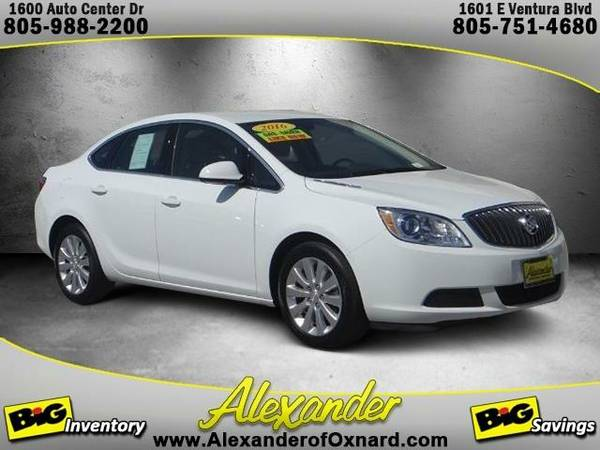 2016 *Buick Verano* Base - (Summit White)