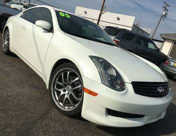 2005 Infiniti G35 Rwd 2dr Coupe (3.5L 6cyl 6M)