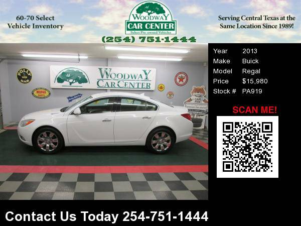 2013 Buick Regal Premium, 48K miles, Leather, 1-Owner, Nice !