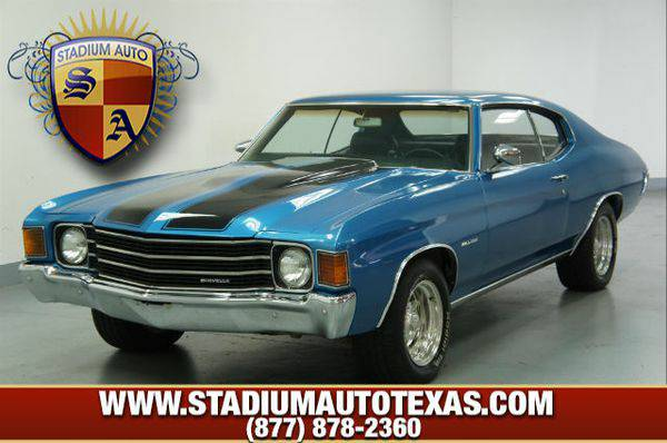 1972 *Chevrolet* *Malibu* ~ Over 500 vehicles to choose from ~