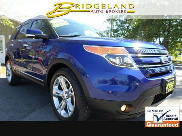 2014 Ford Explorer 4WD 4d Wagon Limited