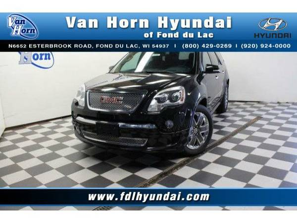 2011 *GMC Acadia* AWD Denali - GMC-Financing for Everyone