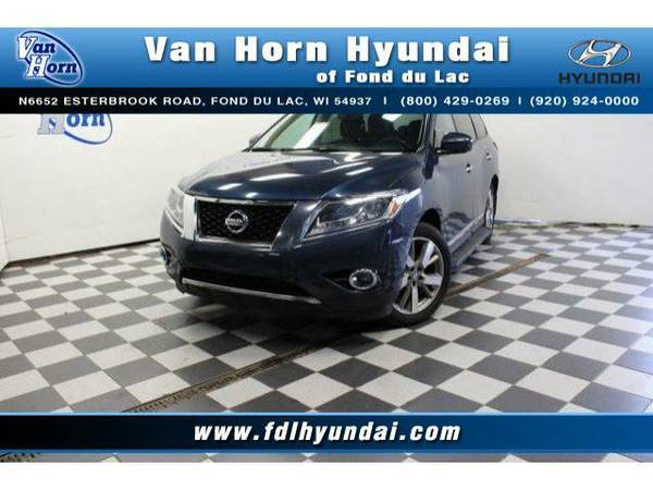 2014 *Nissan Pathfinder* 4x4 Platinum - Nissan-Financing for Everyone