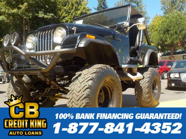 Year END Close Out 1973 JEEP CJ V8 We can finance everyone