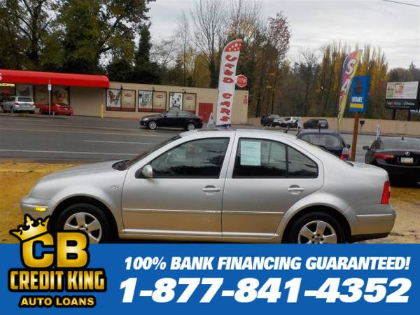 Year END Close Out 2004 Volkswagen Jetta Sedan GLS We can finance ever