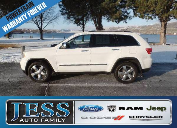 2012 Jeep Grand Cherokee Overland **WARRANTY FOREVER**