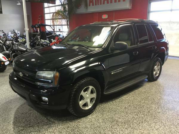 2004 CHEVROLET TRAILBLAZER LT 4X4 LEATHER LOADED! 1 OWNER-DRIVES GREAT