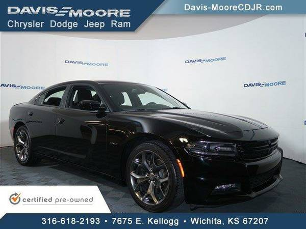2015 *Dodge Charger* RT - Dodge Phantom Black Tri-Coat Pearl