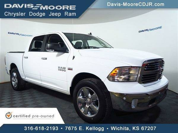 2016 *Ram 1500* Big Horn Crew Cab 4x4 - Ram Bright White Clearcoat
