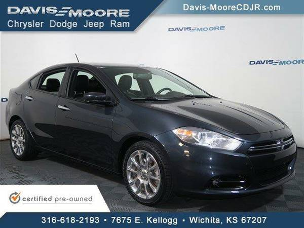 2013 *Dodge Dart* Limited - Dodge Maximum Steel Metallic