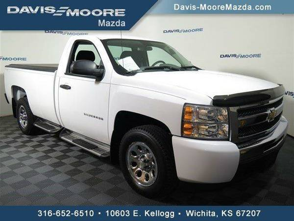 2011 *Chevrolet Silverado 1500* Work Truck - Chevrolet Summit White