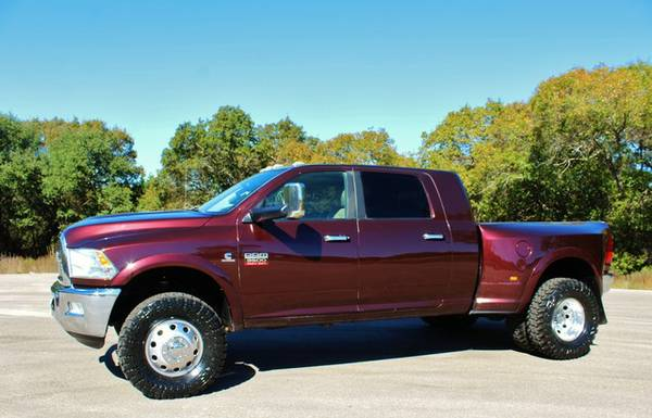 2012 DODGE RAM 3500 LARAMIE MEGA CAB 6.7L CUMMINS CALL NOW!!