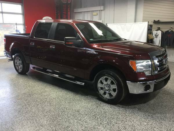 2009 FORD F-150 CREWCAB LOADED CHROME WHEELS-CRAZY LOW MILES! LIKE NEW