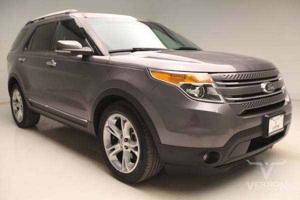 Stock G3872A Ford 2013 Explorer SUV Limited FWD