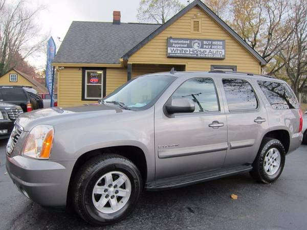 2007 GMC YUKON SLT ~~~ $0 DOWN WITH ANY PAID TRADE IN!