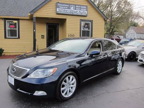 2007 LEXUS LS460 ~~ $0 DOWN WITH ANY PAID TRADE IN!!