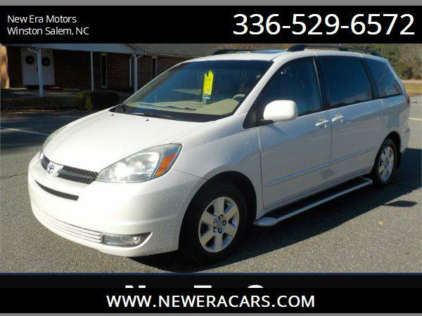 2004 TOYOTA SIENNA XLE Leather! Cheap!, White