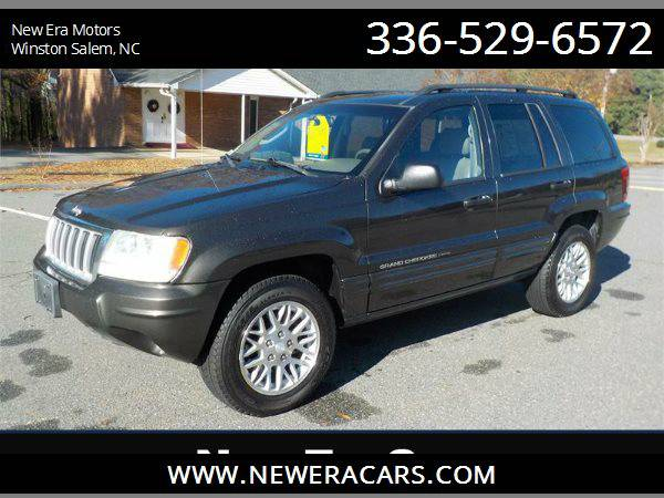 2004 JEEP GRAND CHEROKEE LIMITED Leather! Nice!, Gray