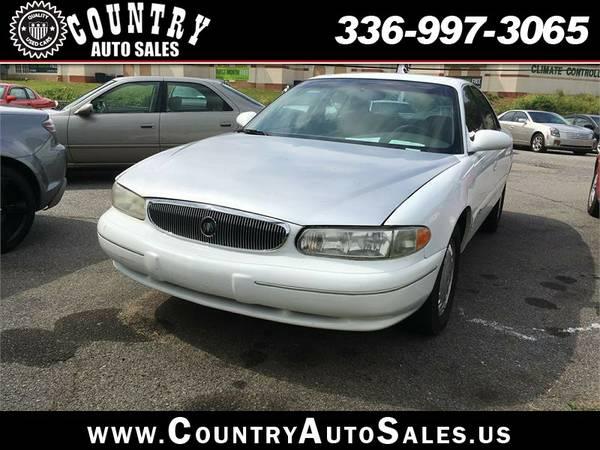 1999 Buick Century, White, Bad Credit OK!