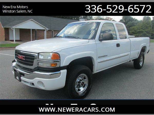 2004 GMC SIERRA C2500 HD CHEAP!!, White
