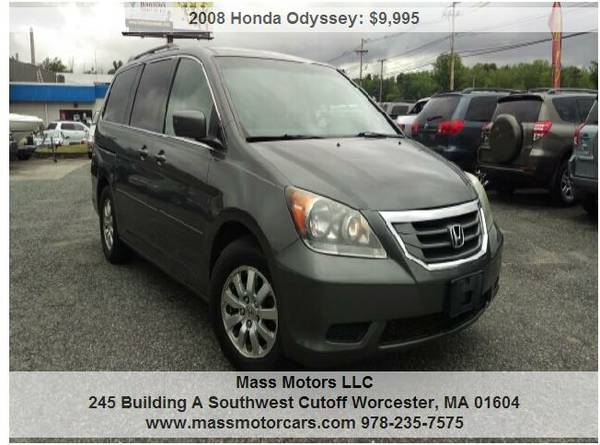 2008 Honda Odyssey EX-L Mini Van