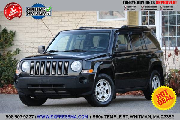 2008 *JEEP PATRIOT* 4x4 2.4 4dr SUV (BLACK) EXTRA CLEAN!! BEST DEAL!!