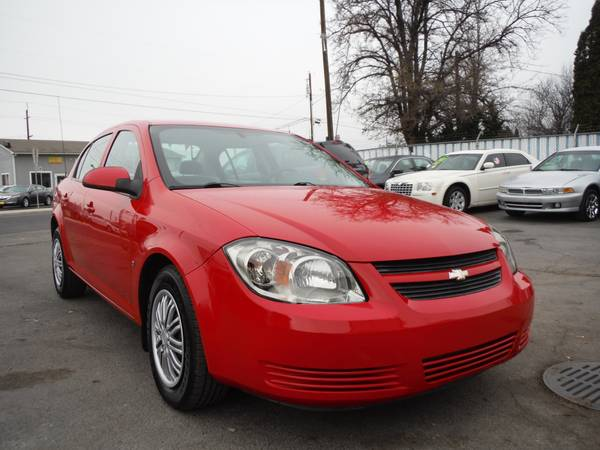 2008 CHEVY COBALT LT ...BEAUTIFUL RED CAR !!