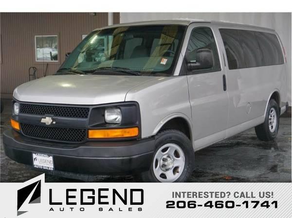 2008 Chevrolet Express Passenger LS Van 3D Van Express Passenger...