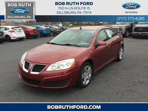 2009 Pontiac G6 Base Sedan G6 Pontiac