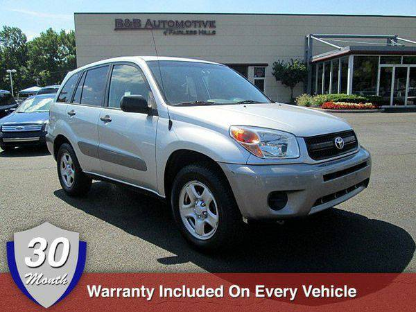 2004 *Toyota* *RAV4* BUY HERE PAY HERE 30-Month Warranty