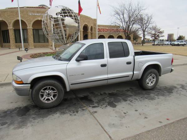 >>> $4,500 CASH *** 2002 DODGE DAKOTA SLT*** LOW MILES ONLY...