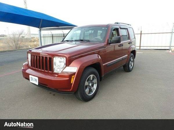 2008 Jeep Liberty Sport SKU:8W134766 Jeep Liberty Sport SUV